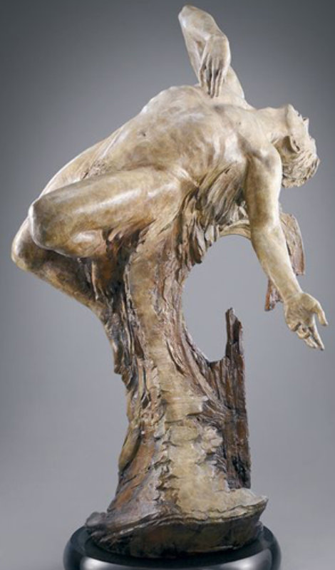 From the Heart Bronze Sculpture 2003 60 in