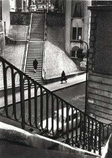 Left Bank Street Paris 1964 Photography - Alfred Eisenstaedt