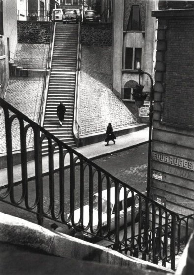 Left Bank Street Paris 1964