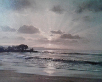 Twilight Surf 1967 32x42 Limited Edition Print - Peter Ellenshaw