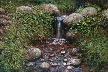 Rivulet 1977 Limited Edition Print - Peter Ellenshaw