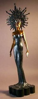 Starstruck Bronze Sculpture 1987 22 in Sculpture -  Erte