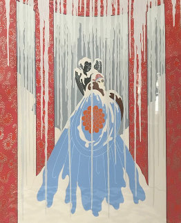 Loves Captive 1982 Limited Edition Print -  Erte
