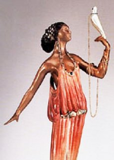 Love Goddess Bronze Sculpture 1988 18 in Sculpture -  Erte