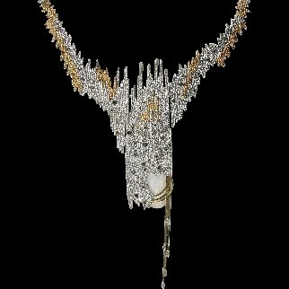 Sophistication Necklace 1984 Jewelry -  Erte