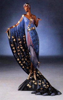 L'amour De Vin Bronze Sculpture 1990 19 in Sculpture -  Erte