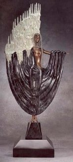 Arctic Sea Bronze Sculpture 1988 28 in Sculpture -  Erte