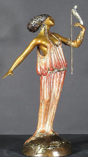 Love Goddess Bronze Sculpture 1988 20 in Sculpture -  Erte