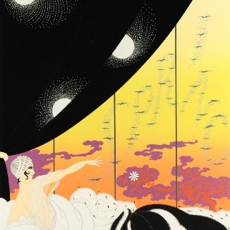 Coming of Spring AP 1981 Limited Edition Print -  Erte