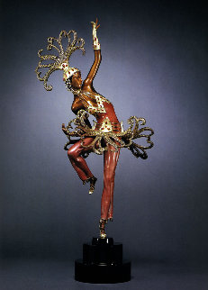 Fire Dancer Bronze 2008 23 in Sculpture -  Erte