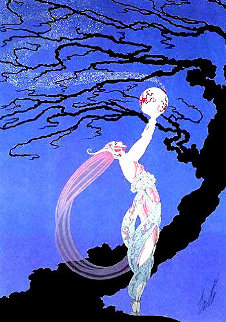 Fireflies 1980 Limited Edition Print -  Erte