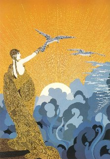 Wings of Victory 1985 Limited Edition Print -  Erte