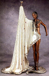 Slave Bronze Sculpture AP 1988 19 in Sculpture -  Erte