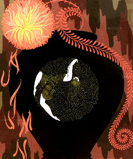 Autumn Song: Twenties Remembered Again Suite 1978 Limited Edition Print -  Erte