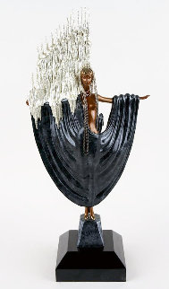 Arctic Sea Bronze Sculpture 1988 26 in Sculpture -  Erte