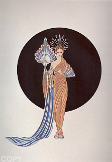 Legends Suite of 2 1987 Limited Edition Print -  Erte
