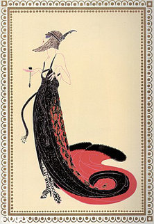 Vamps Suite of 6 1979 Limited Edition Print -  Erte