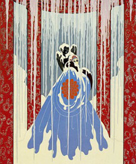 Love's Captive 1982 Limited Edition Print -  Erte