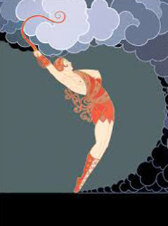 Dancer AP 1983 Limited Edition Print -  Erte