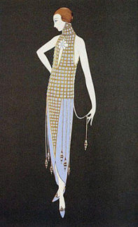 Ingenue 1990 Limited Edition Print -  Erte