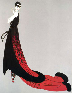 Splendeur 1974 Limited Edition Print -  Erte