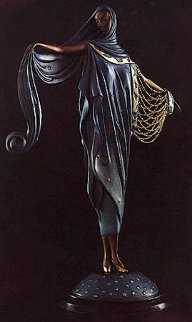 Moonlight Bronze Sculpture 1985 Sculpture -  Erte
