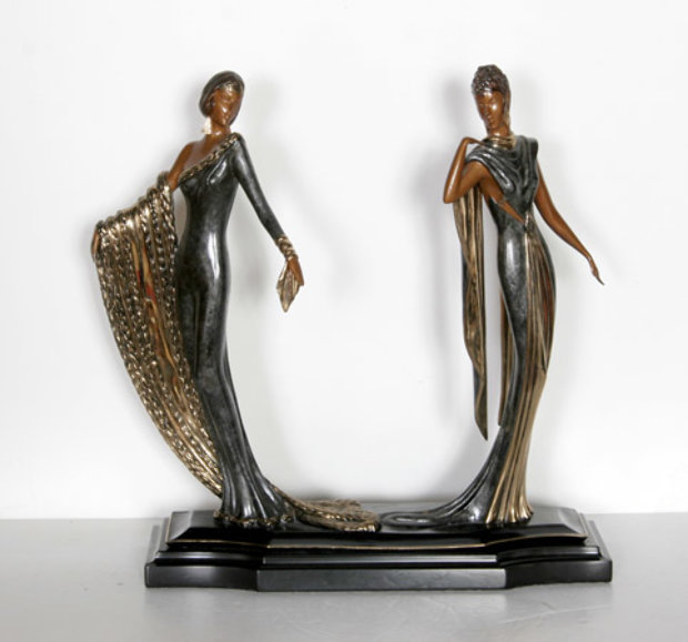 Duetto Bronze Sculpture 1989