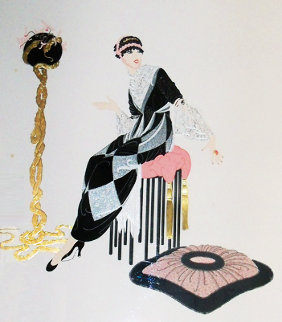 Harmony 1987 Limited Edition Print -  Erte