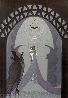 Lovers and Idols AP 1980 Limited Edition Print -  Erte