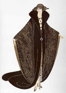 Golden Cloak 1979 Limited Edition Print -  Erte