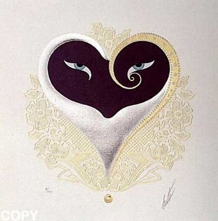 Heart I 1985 Limited Edition Print -  Erte