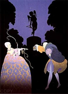 Rendezvous 1981 Limited Edition Print -  Erte