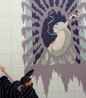 La Serenade 1979 Limited Edition Print -  Erte