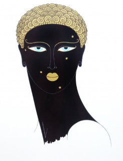 Queen of Sheba 1980 Limited Edition Print -  Erte