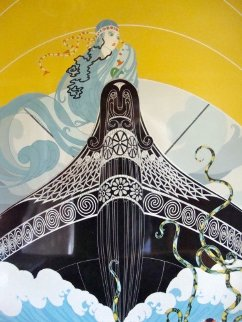 Surprises of the Sea 1984 Limited Edition Print -  Erte