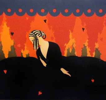 Memories 1980 Limited Edition Print -  Erte