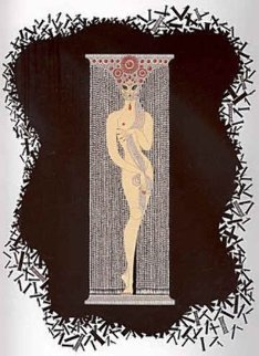Number Series, Suite of 10 1980 Limited Edition Print -  Erte
