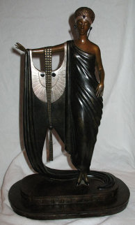 Sophisticated Lady Bronze Sculpture 1983 Sculpture -  Erte