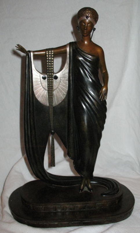Sophisticated Lady Bronze Sculpture 1983