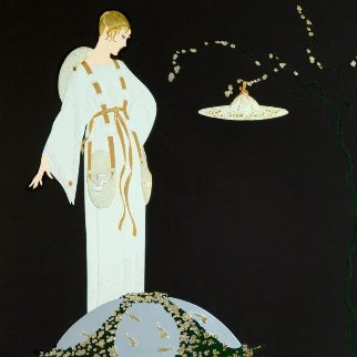 Moon Garden 1991 Limited Edition Print -  Erte