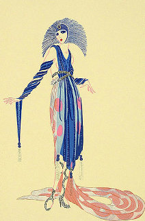 La Pretentiese AP 1979 Limited Edition Print -  Erte