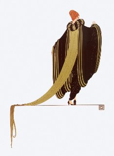 Ready For the Ball 1982 Limited Edition Print -  Erte