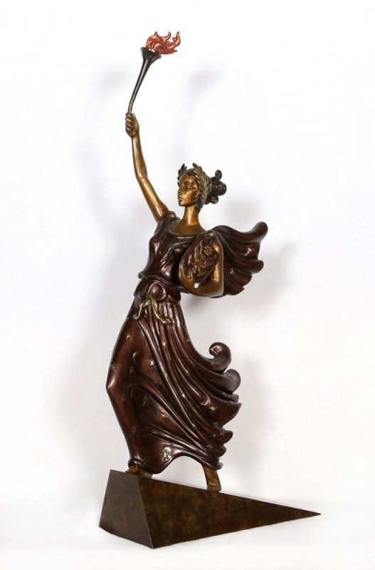 Liberty Bronze Sculpture 1984