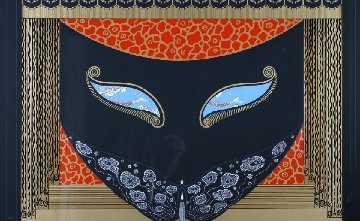Eyes of Love And Eyes of Jealousy Set 2  1985 Limited Edition Print -  Erte