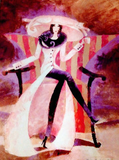 Lady Pink Coat 2003 Limited Edition Print - Alina Eydel