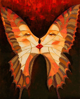 Butterfly Kiss I 2010 Limited Edition Print - Alina Eydel