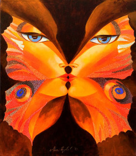 Butterfly Kiss VI Limited Edition Print - Alina Eydel