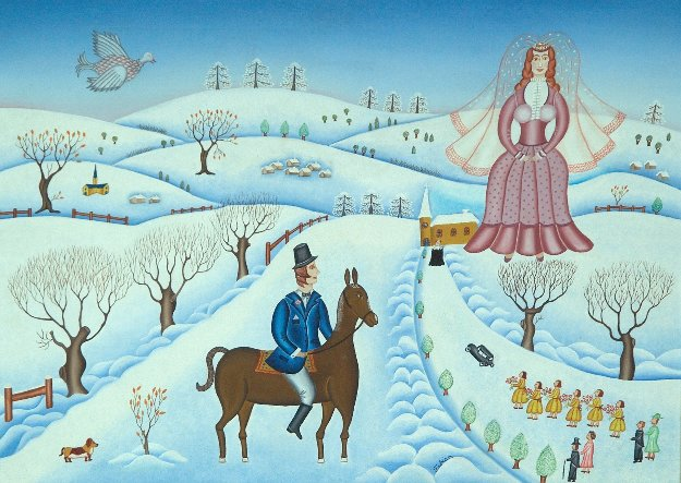Winter Wedding 1978 26x34