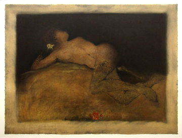 Reclining Nude AP 1994 Limited Edition Print - Roy Fairchild-Woodard