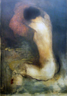 Girl Undressing 1992 Limited Edition Print - Roy Fairchild-Woodard